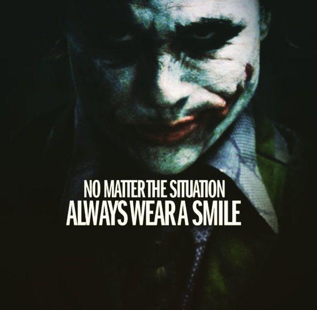 i always wear a smile heath ledger joker quotes best joker