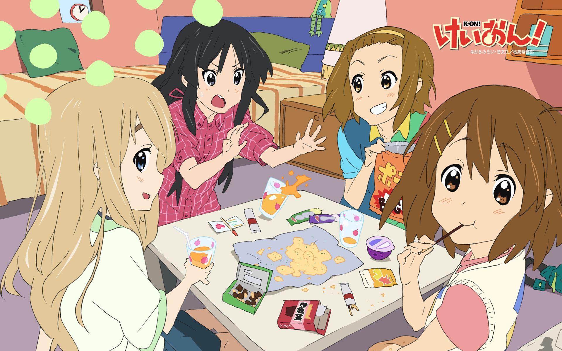 Yui Please Xd Anime Simple Anime Ghibli Art