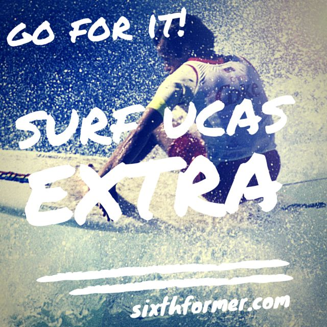 Sixthformer.com get advice on UCAS Extra if you are adding a choice to your university options