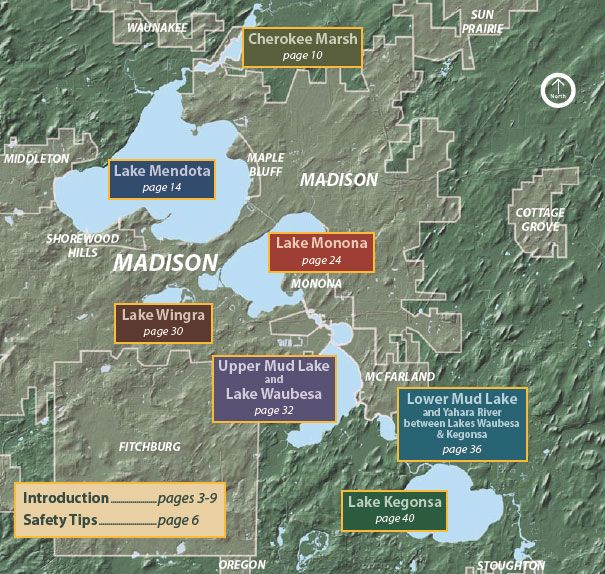 madison chain of lakes map Madison S Chain Of Lakes Shorewood Mendota Lake madison chain of lakes map