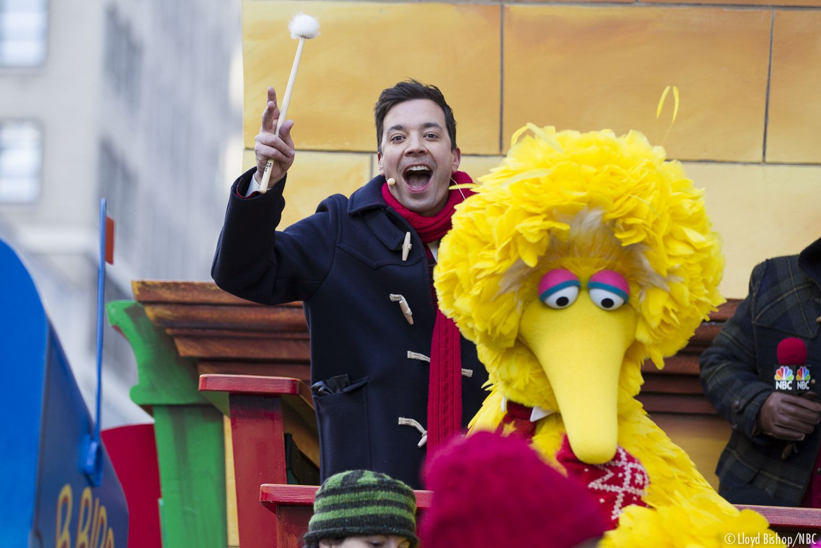 Jimmy and Big Bird