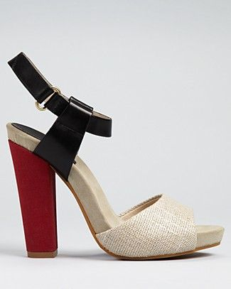 Juicy Couture Sandals - Flash Color Block