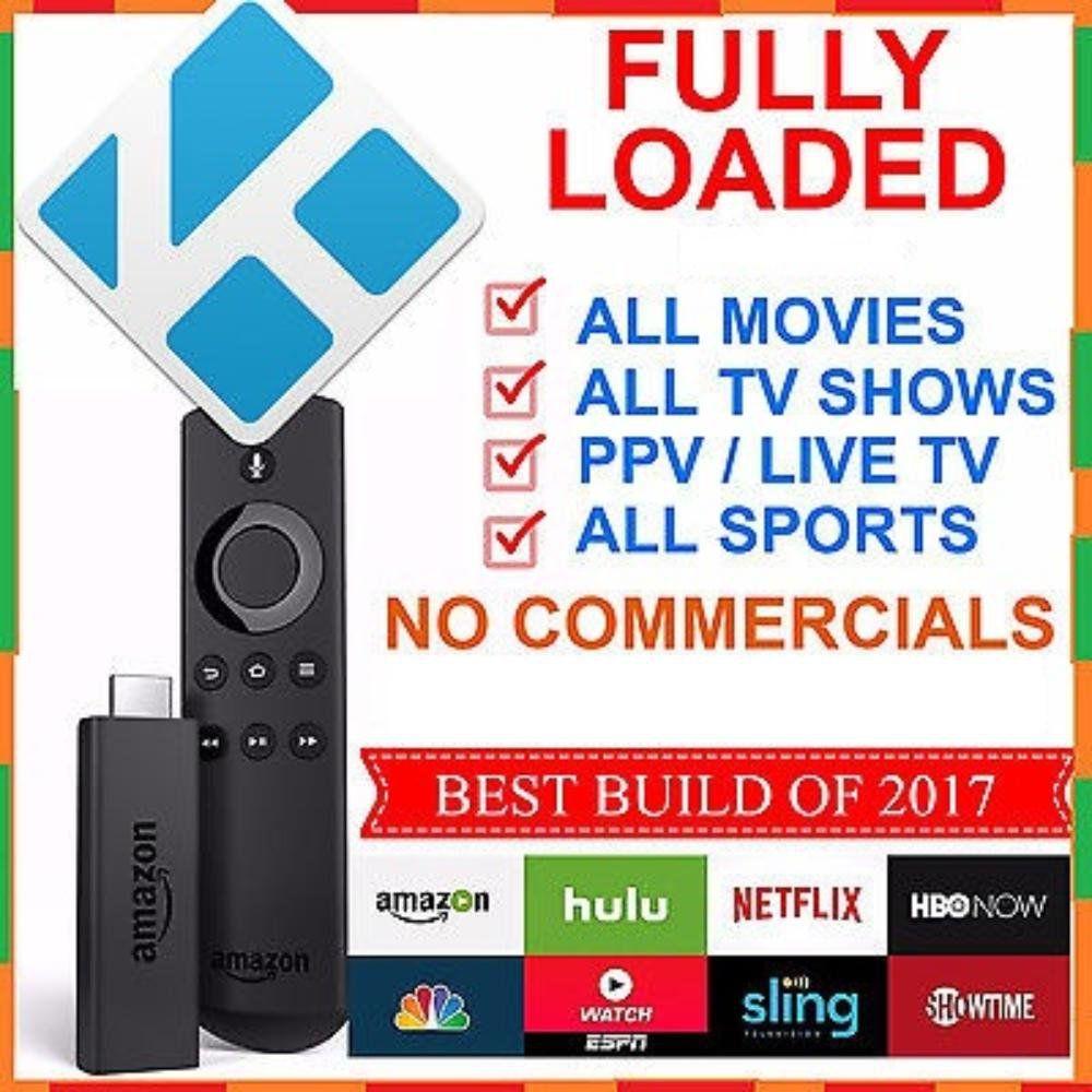 Fully Loaded Unlocked Amazon Fire Tv Stick Bd234 Amazon Fire Tv Amazon Fire Tv Stick Fire Tv Stick