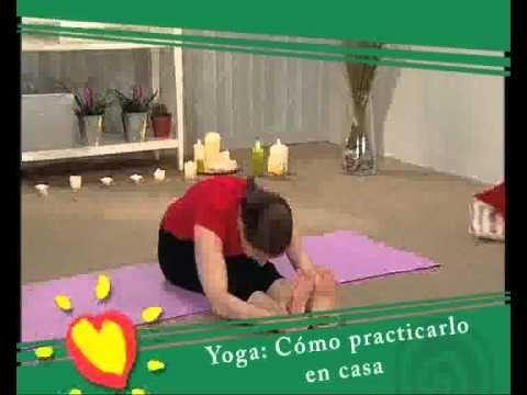 Ejercicio yoga c mo practicarlo en casa youtube ejercicio pinterest ejercicio and yoga - Ejercicios yoga en casa ...