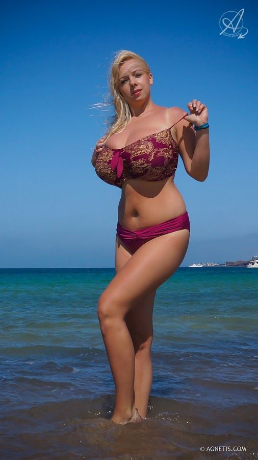 BustySwimm Beautiful Unique Miracle Agnetis Curvaceous Wear m8P0NynvwO