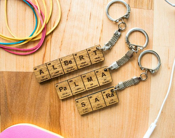 Periodic table name keychain gifts for him gifts for her keychains periodic table name keychain gifts for him gifts for her urtaz Gallery