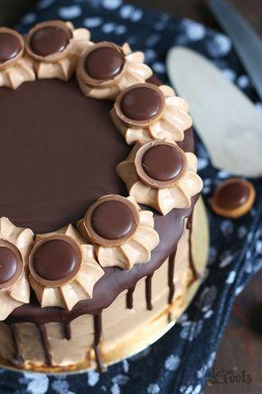 Photo of Homemade hazelnut nougat mascarpone cake for a festive occasion #R …