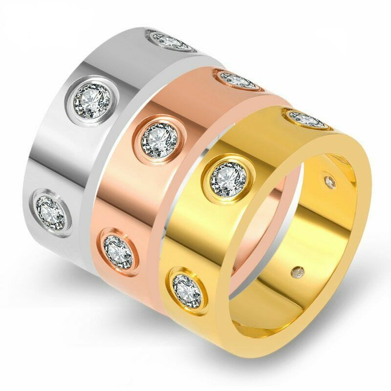 Get the best worlds, with our beautiful Cubic Zirconia Stone Ring . Featuring a Stainless Steel Base. Material Stainless Steel Cubic Zirconia Stones Non-Tarnish