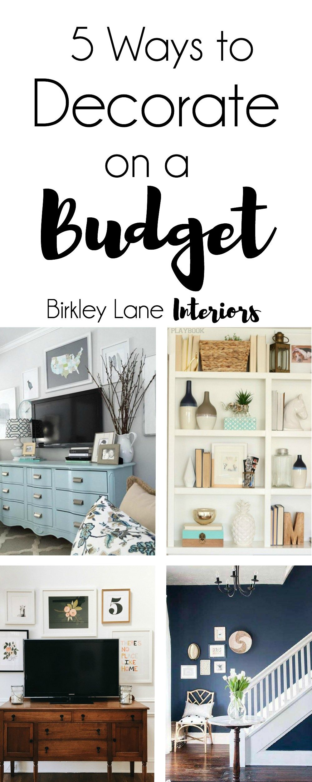 5 Ways To Decorate On A Budget