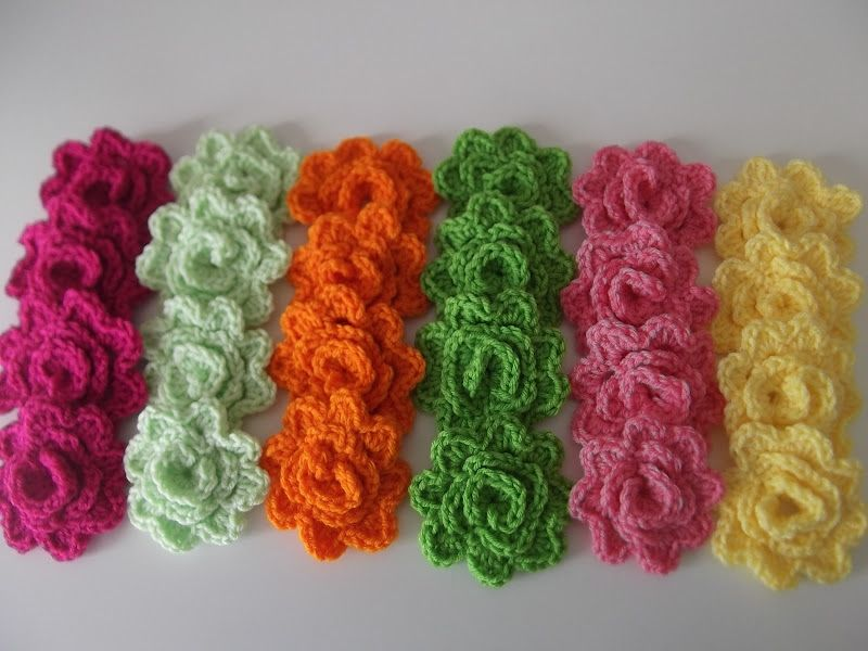 The One Round Rose Free Crochet Pattern Through Theyarnbox