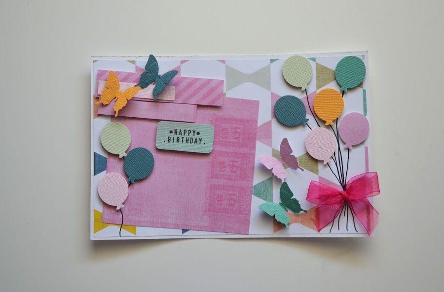 Tarjetas de cumplea os manualidades tarjetas de boda - Manualidades para cumpleanos ...