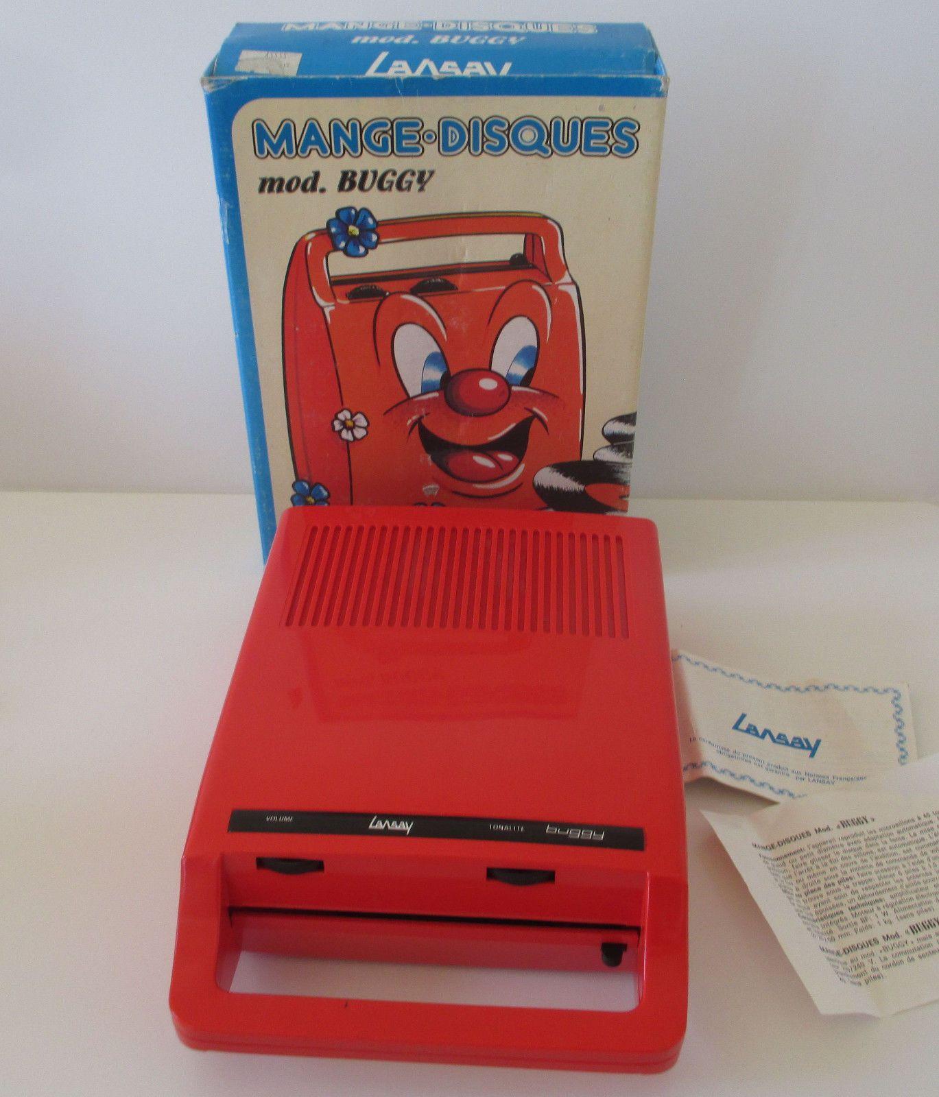 lansay buggy mange disque lansay buggy rouge dans sa boite d 39 origine vinyle 45 tours image. Black Bedroom Furniture Sets. Home Design Ideas