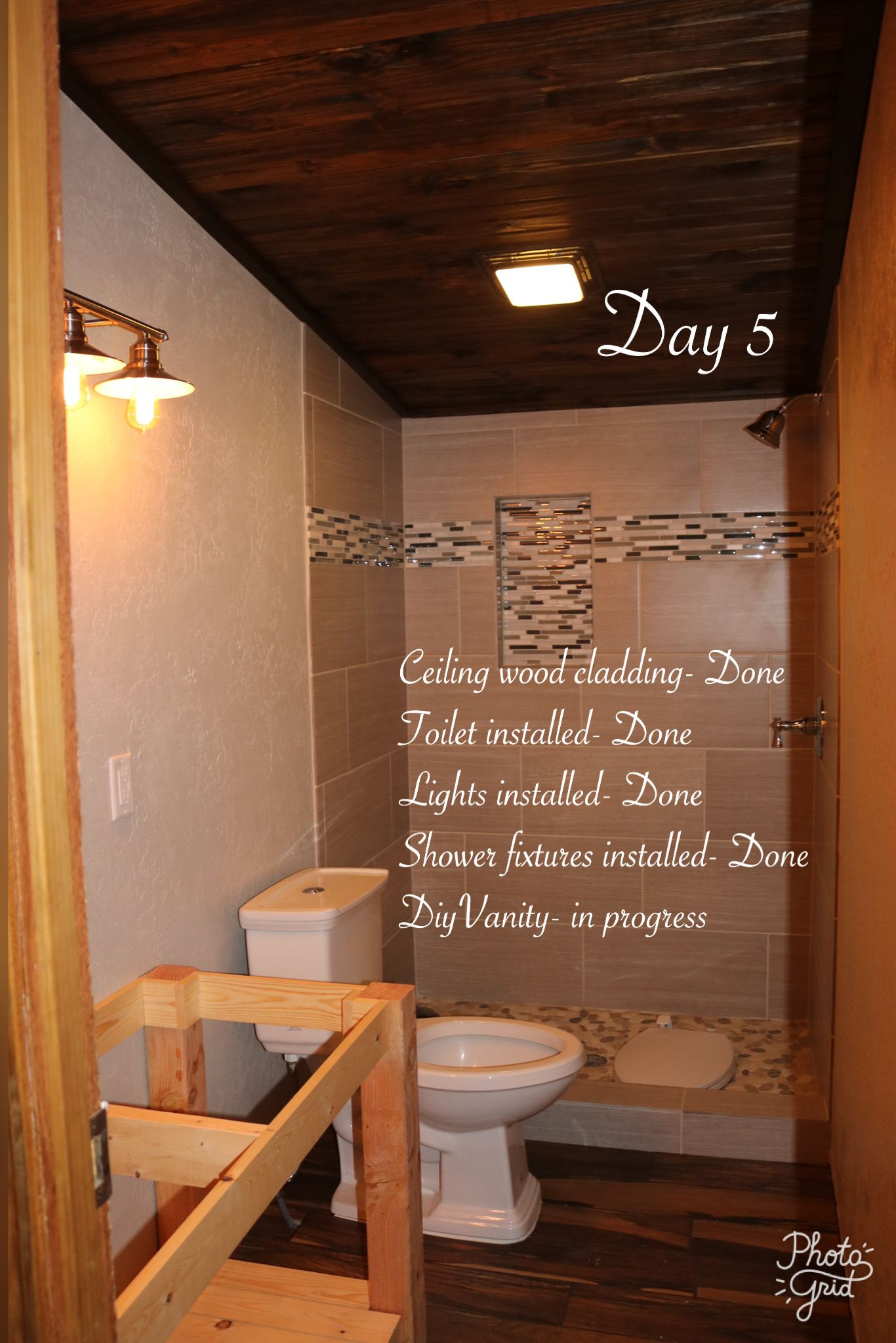 Mobile Home Bathroom Remodel Manufactured Makeover Pinterest - Trailer bathroom remodel