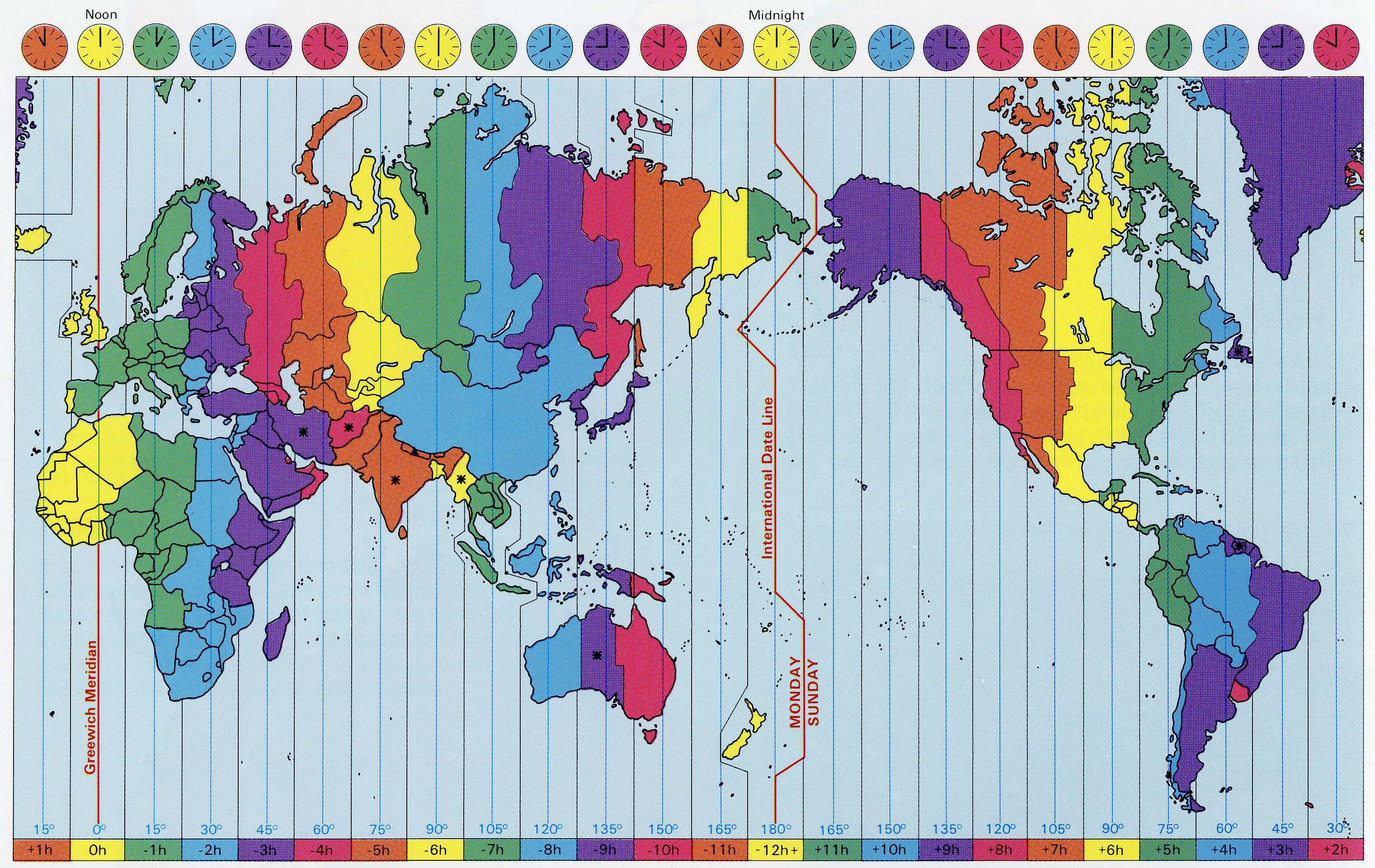 World time zones time zones geography and math resources world time zones gumiabroncs Images