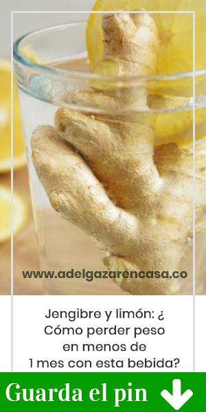 Jengibre y limón: ¿Cómo perder peso en menos de 1