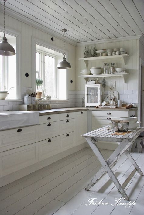 Pin by Diane on cottage kitchen | Pinterest | White cottage, Cottage Kitchen Floor Ideas With White Cabin on kitchen ideas with marble tops, kitchen ideas with cabinets, kitchen ideas with wallpaper, kitchen ideas with natural lighting,
