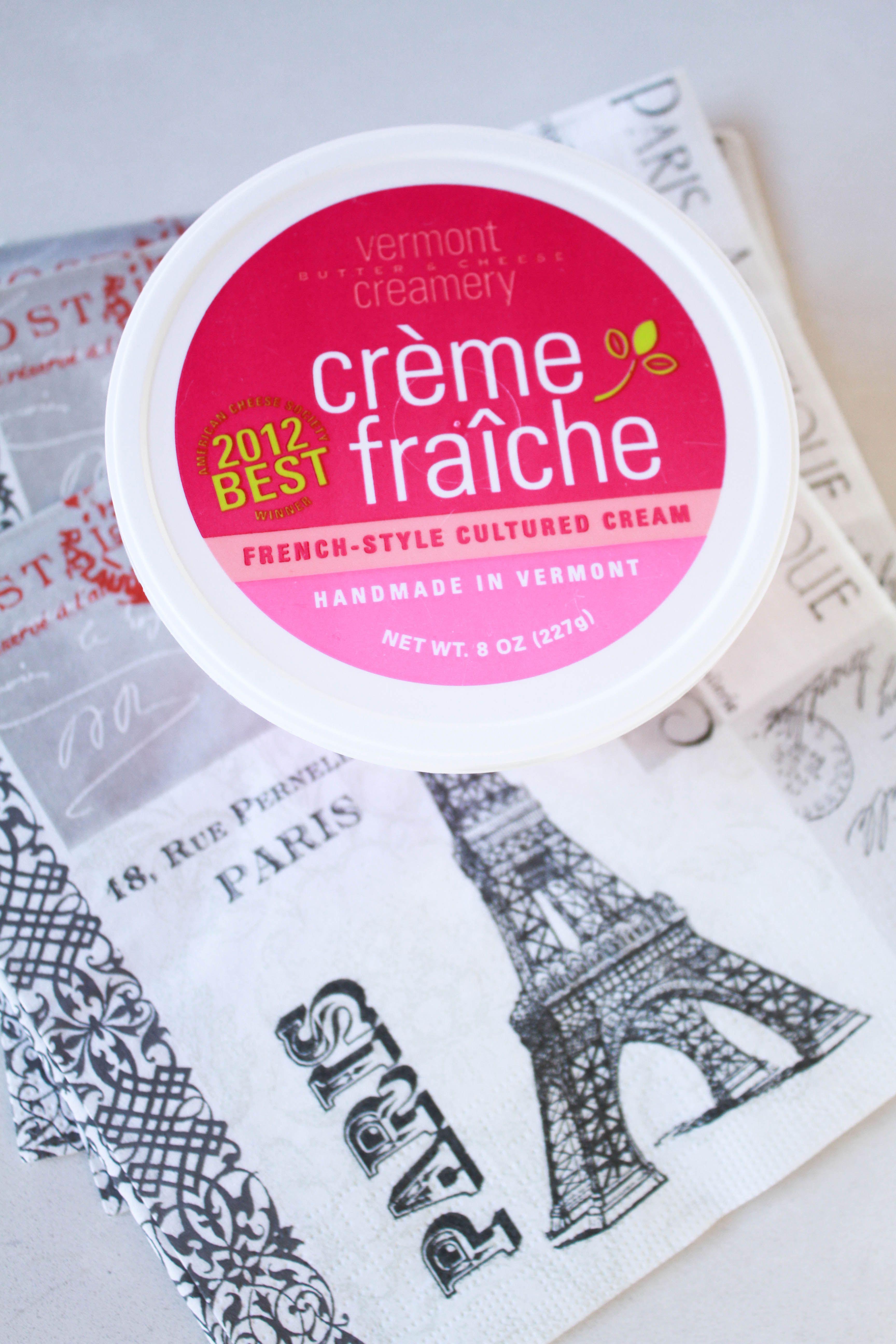 Creme Fraiche by Vermont Creamery   food   Pinterest   Creme fraiche ...