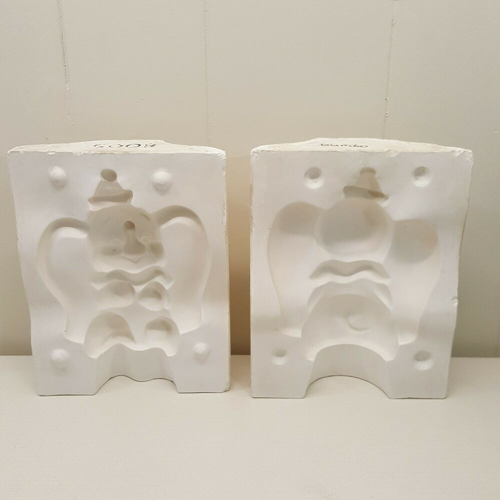 Disney Dumbo Slip Casting Ceramic Mold Craft Project 9 Inch Vintage 8005 Disney Slip Casting Ceramics Ceramic Molds Craft Projects