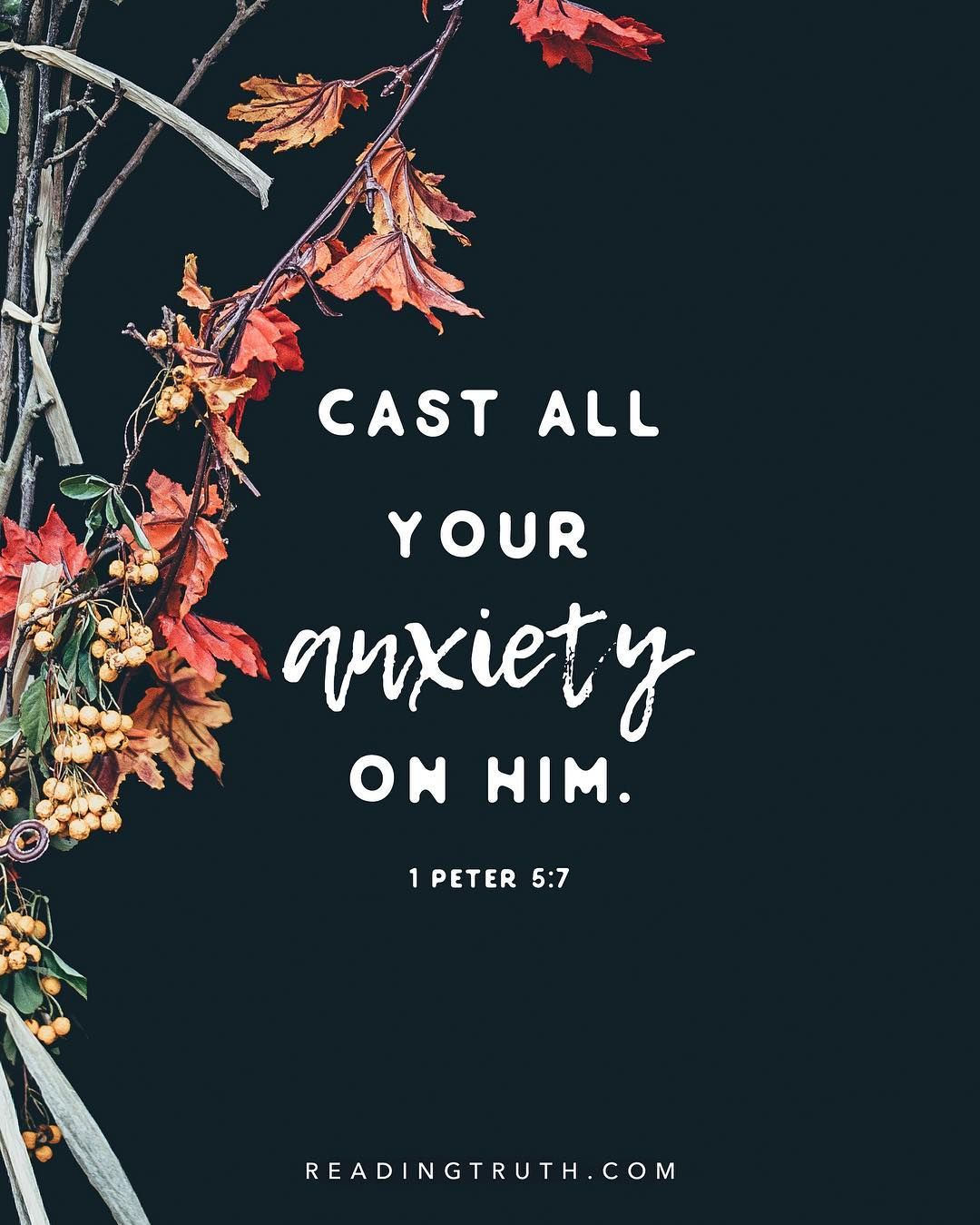 Advent, Day 8 // 1 Peter 5:5-7 5