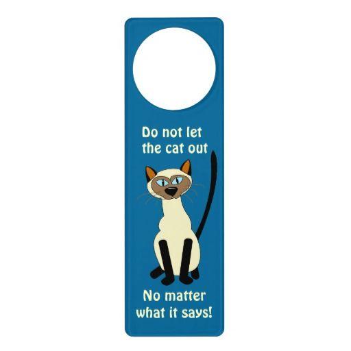Giraffe Do Not Disturb Plastic Door Knob Hanger Warning Room Sign