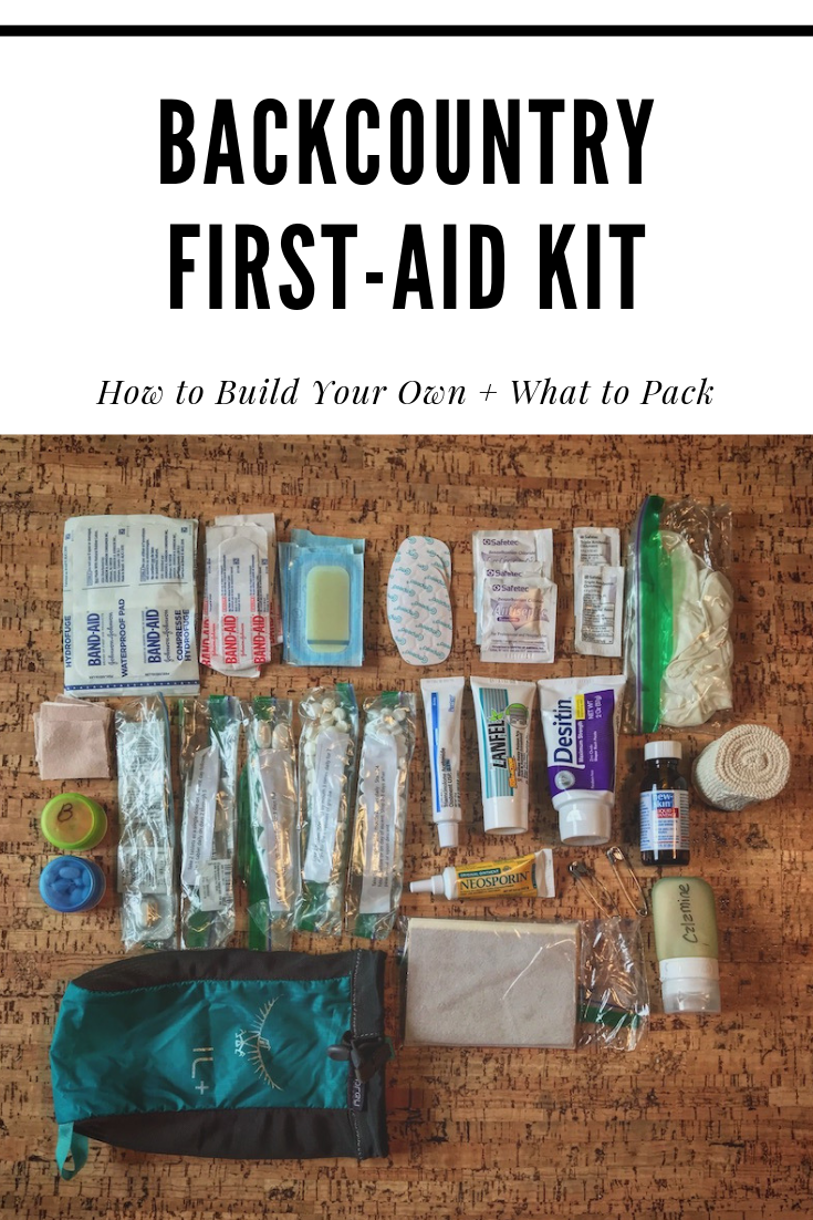 What to Put in Your Backcountry First-Aid Kit