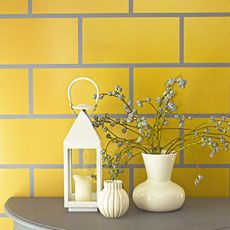 Amazing How To Paint A Wall Of Faux Tile