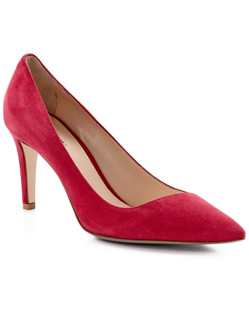Giorgio Armani Suede Pump is on Rue. Shop it now.