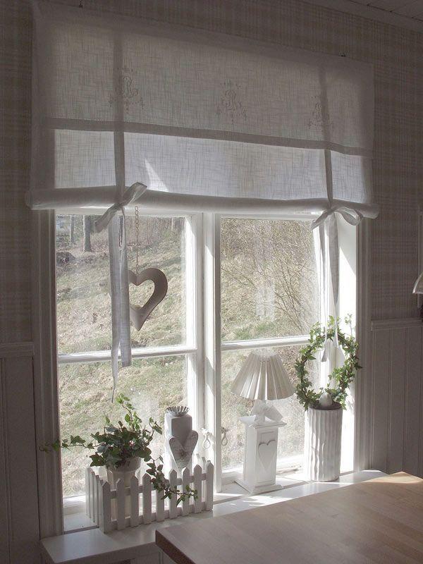 Monogramm Rr Fensterrollo 80 Cm Gardinen Kuche Landhaus Gardinen Landhausstil Landhaus Einrichtung