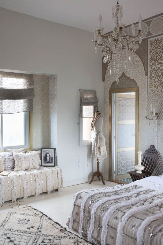 Handiras: And A Dreamy Tale Of Glamorous Moroccan Bedroom Ideas By Maryam  Montague