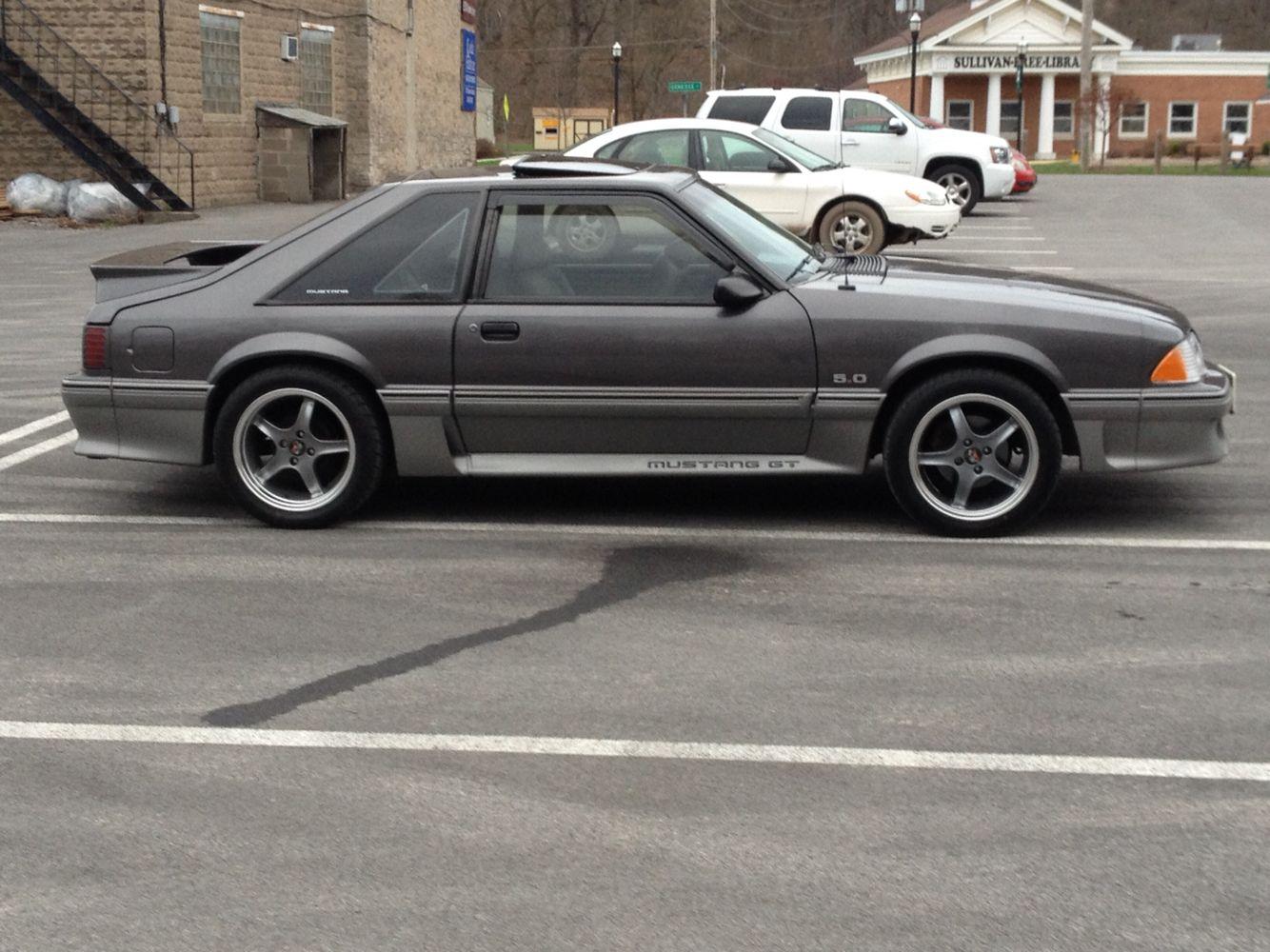 91 Mustang Gt >> 91 Mustang Gt 1991 Ford Mustang Gt Fox Body Mustang Fox Mustang
