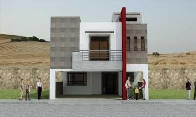Aproveche su credito infonavit decoracion pinterest for Fachadas de casas modernas pequenas de infonavit