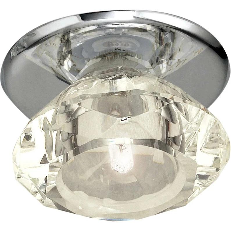 Kit 1 Spot A Encastrer Luxy Rond Fixe Halogene Eglo G4 Transparent Leroy Merlin Spots Spot Encastrable Intensite Lumineuse