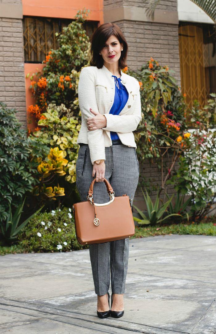 d9764ff73cbf DIVINA EJECUTIVA: Mis Looks - Pantalón a cuadros | Divina´s Looks ...
