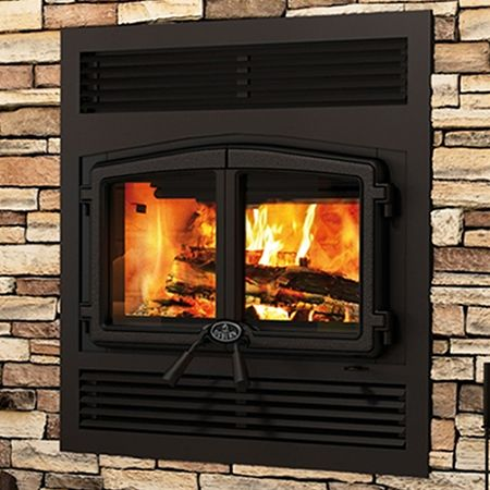 Osburn Stratford Zero Clearance Wood Stove Fireplace With
