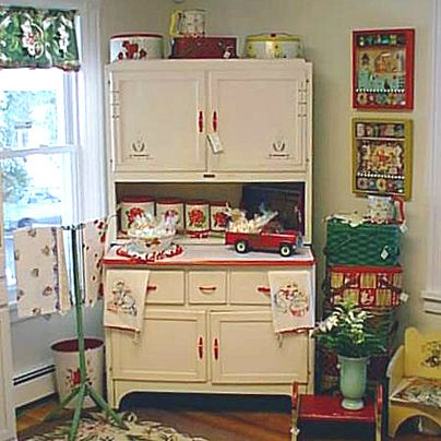 Sellers Kitchen Cabinets Vintage white sellers hoosier cabinet at t-party antiques and tea room