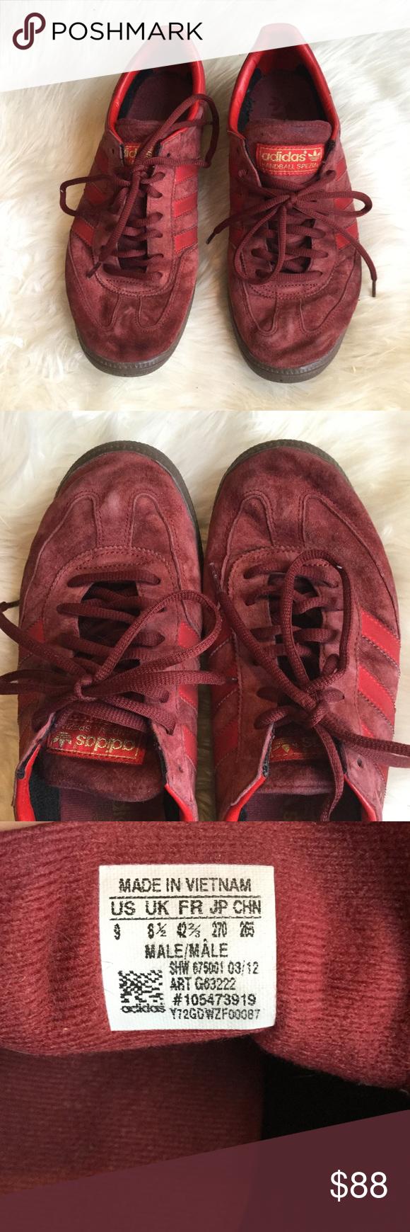 Adidas Spezial Mars Red Handball