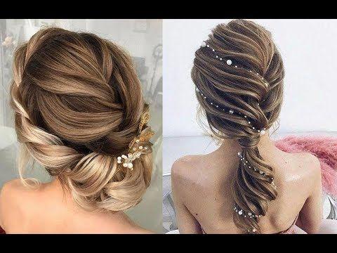 تسريحات شعر 2019 أجمل تسريحات شعر بسيطة وأنيقة The Most Beautiful Hair Styles Ever Youtube Short Wedding Hair Cool Hairstyles Hair Styles