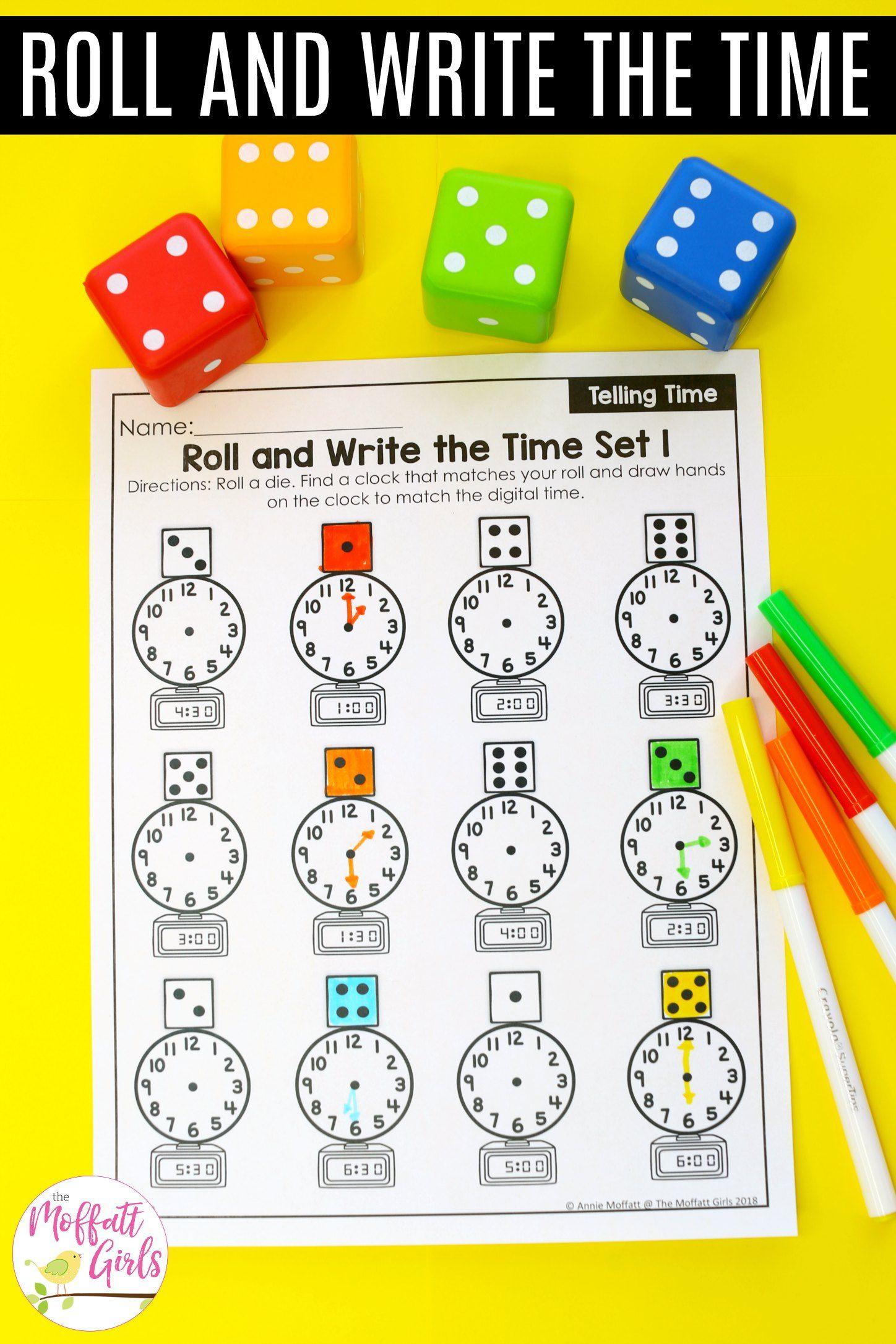 First Grade Math Time