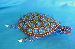 Tortuga Azul Синий Turtle