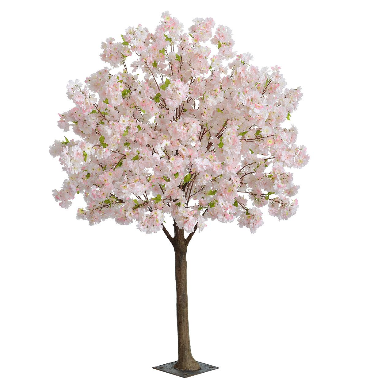 Artificial Blossom Tree With Pink Or Cream Silk Cherry Blossom Flowers Blossom Trees Cherry Blossom Flowers Cherry Blossom Tree