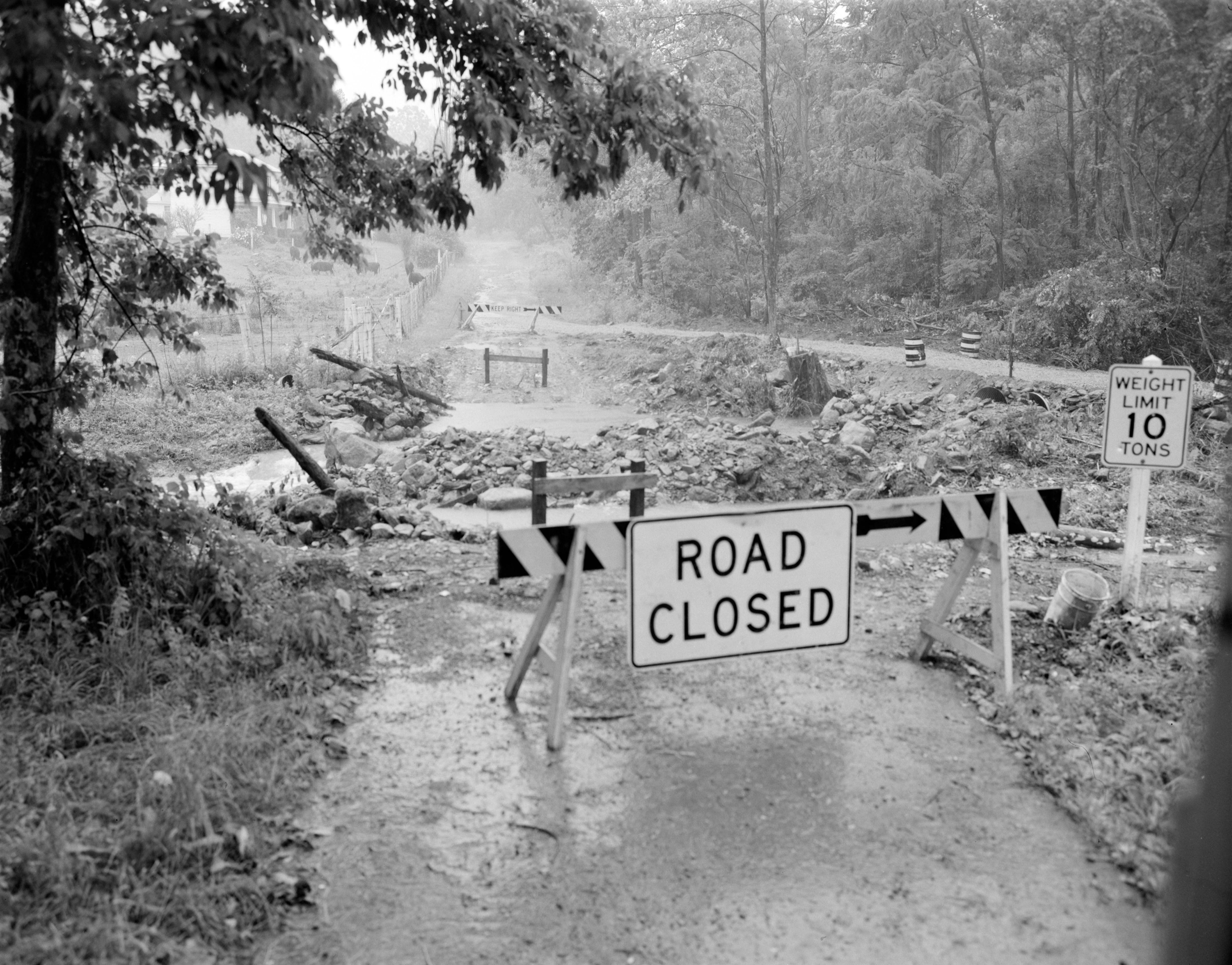 Approximately Five Miles West Of Stanardsville The Bridge On Rt 625 Was Washed Out Located In Green County 7 12 1972 No Virginia History Virginia Governor Hurricane Camille