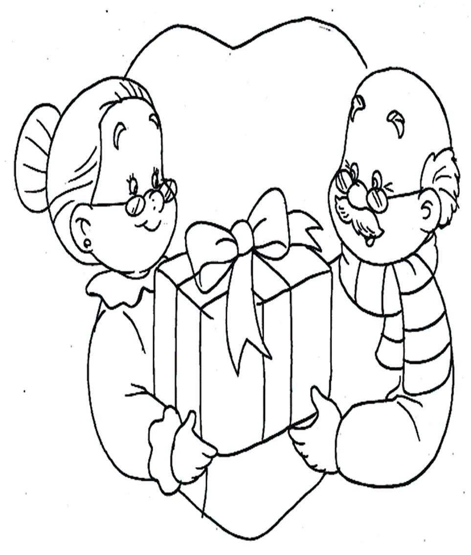 cuentosdedoncoco com dibujos de abuelos para colorear | pre lectura ...