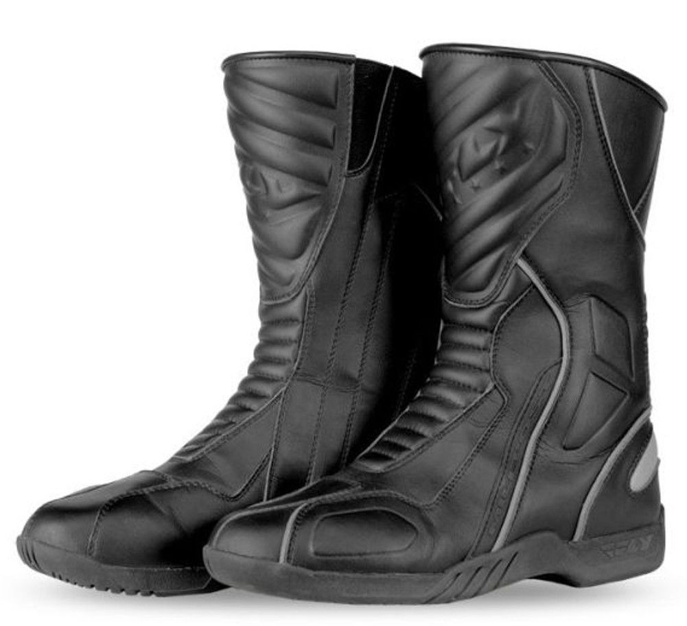 Fly Street Milepost II Sport Touring Mens Motorcycle Boots