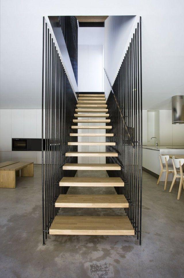 Arquitectura moderna escaleras images - Escaleras interiores para casas ...