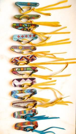 Loom Beaded Stackable Bracelets by rowena