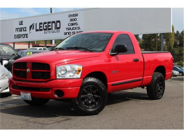 2008 Dodge Ram 1500 Regular Cab St Only 60k Miles Gorgeous Red Truck Hard Tonneau Cover Like New Tires Premium Bla Trucks Used Trucks Tonneau Cover