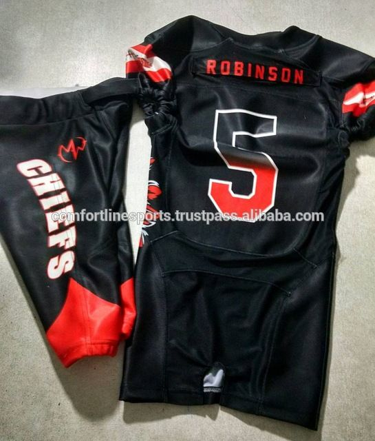 Source American Football Uniform Sublimated American Football