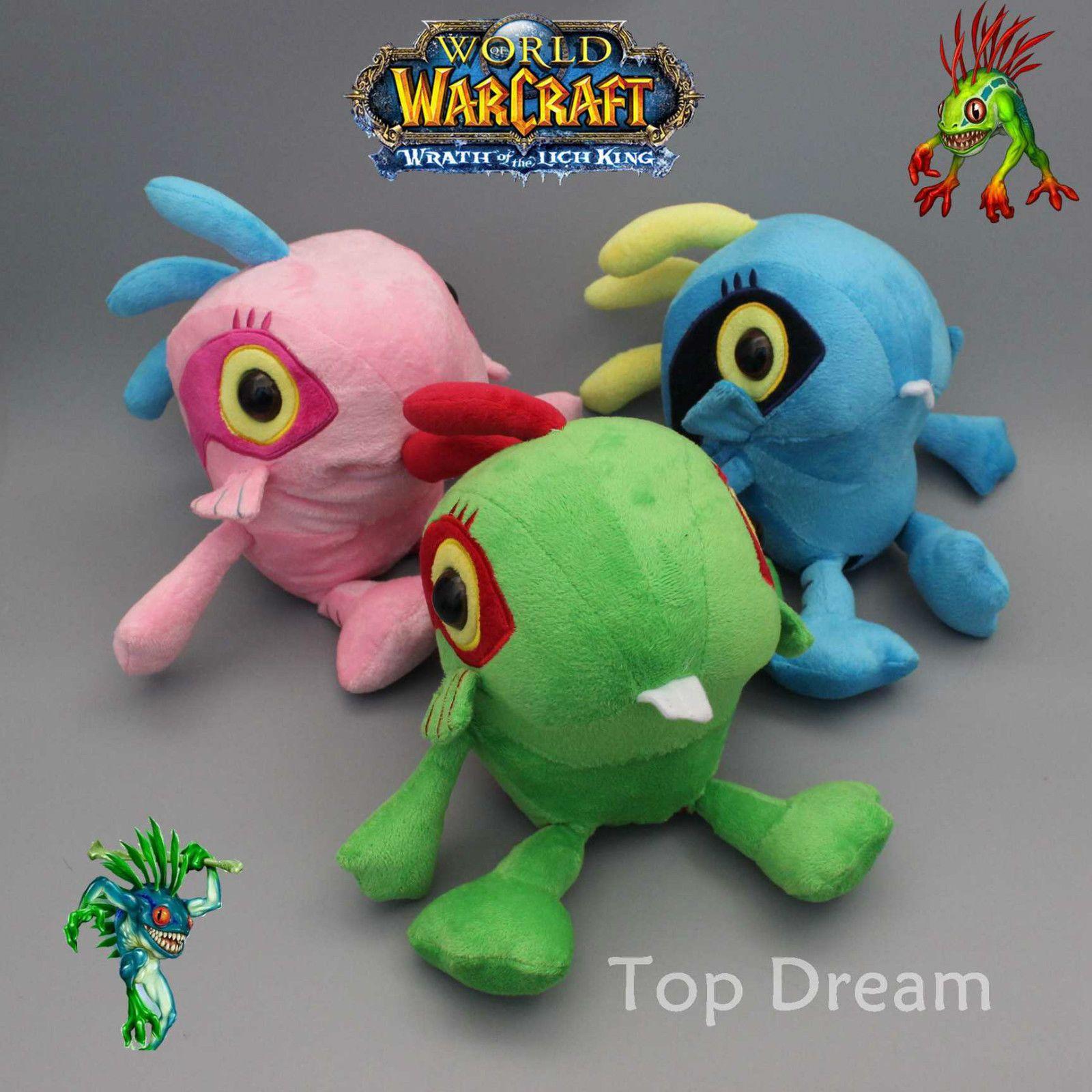 WOW World of Warcraft Murloc Soft Doll Stuffed Plush Toy Kids Dolls funny