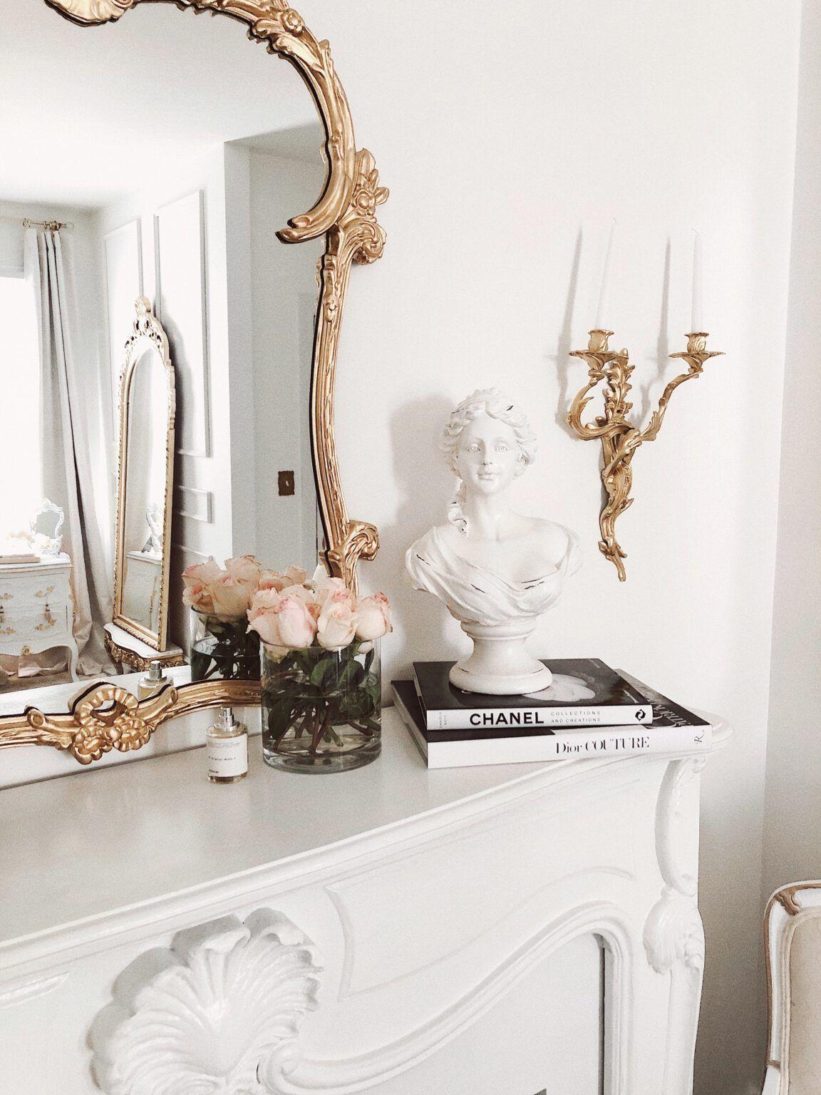 A beautiful Parisian & Versaille themed bedroom ma