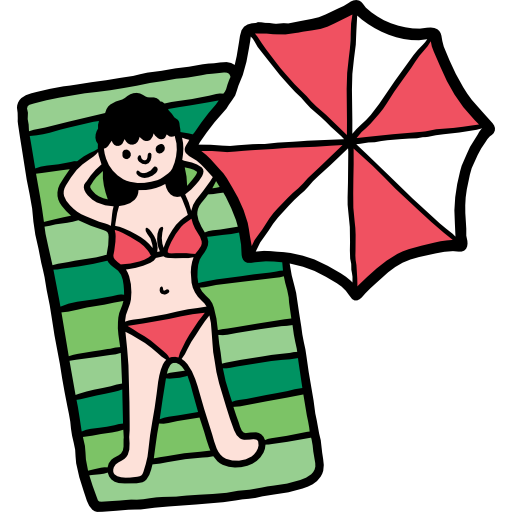 Sunbathing Free Vector Icons Designed By Freepik Vector Icon Design Vector Free Icon